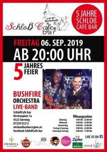 Jubiläum Schloß Cafe Bar