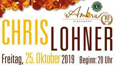 Lionsclub Event Chris Lohner