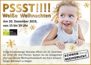 Weiße Weihnachten WIG Schwertberg