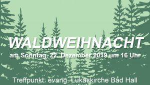 Waldweihnacht Evang. Bildungswerk