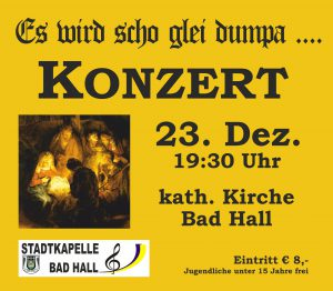 Weihnachtskonzert Stadtkapelle Bad Hall