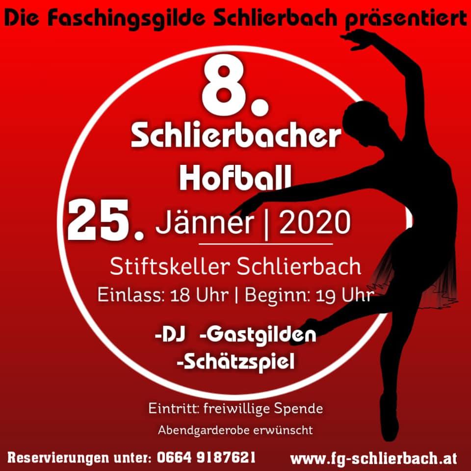 Hofball Faschingsgilde Schlierbach daistwaslos.at