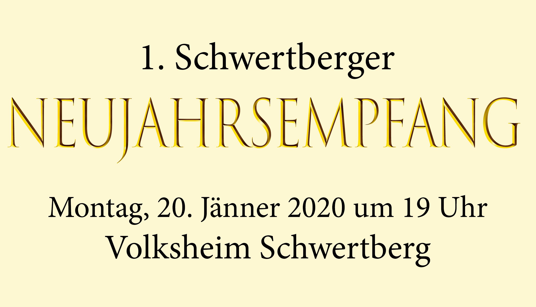 Schwertberger Neujahrsempfang daistwaslos.at