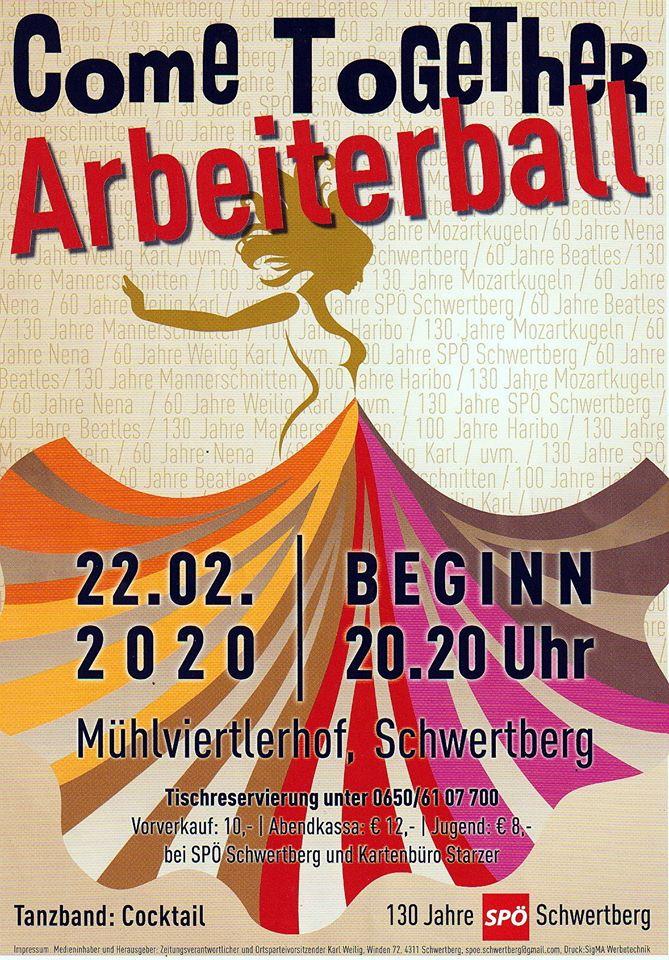 Arbeiterball Schwertberg daistwaslos.at